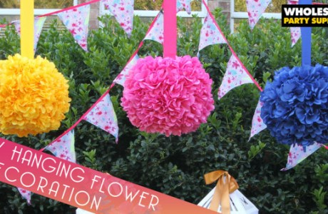 DIY Hanging Flower Globes