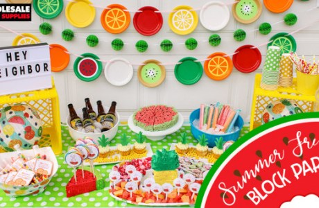 Fruity Summer Block Party