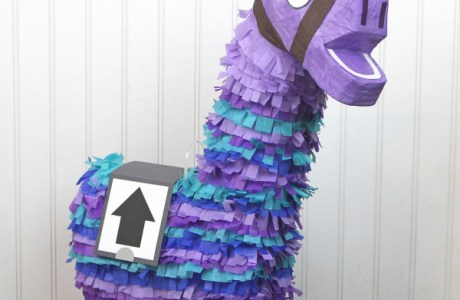 DIY Fortnite Loot Llama Pinata