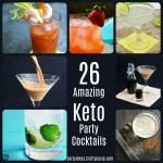 Low Carb Keto Party Cocktails