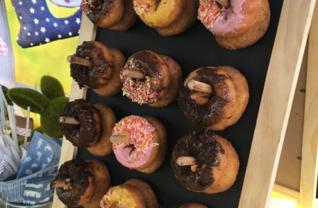 Easy DIY Donut Stand For Your Party