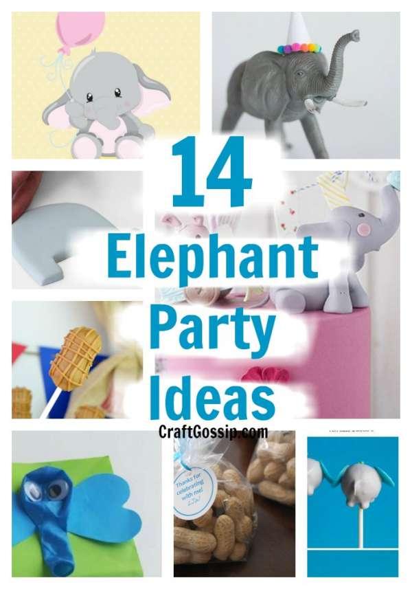14 Elephant Party Decorations Ideas Party Ideas