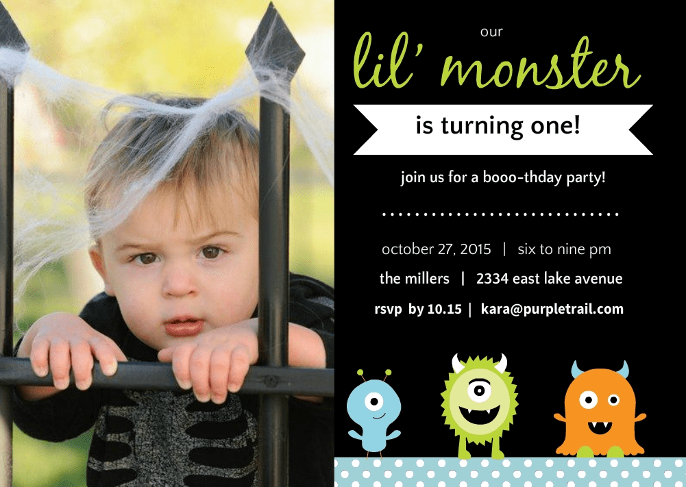 halloween first birthday party ideas