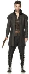 witch halloween costume hunter witches deluxe mens
