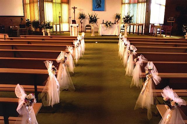 9+ Church Wedding Decoration Ideas