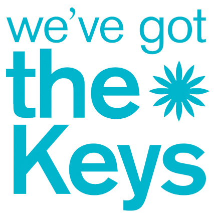 we've got the keys logo