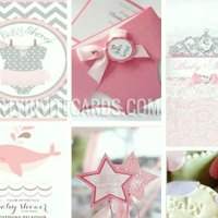 61a85d606 Girly Cute Pink Girl Baby Shower Invitations & Party ideas