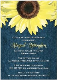 Invitations & Party ideas | Spring Fresh Baby Shower designs