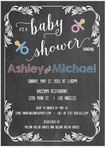 Baby Shower Invitations Budget
