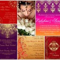 Hindu Indian Wedding Invitations | Eastern Fusions