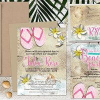 Flip Flops and Frangipani Beach Bat Mitzvah