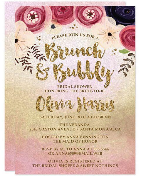 bohemian boho wedding invitation