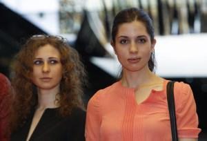 pussy riot, Tolokonnikova & Alyokhina