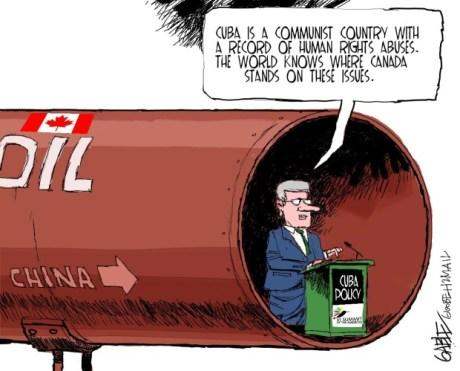 Harper's Double Standards