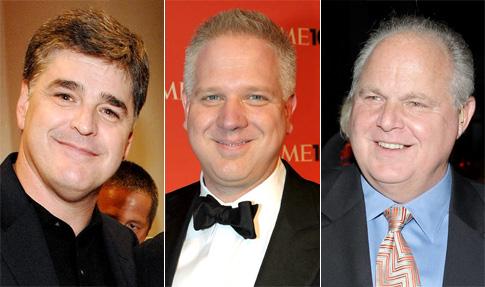 Hannity, Beck & Limbaugh