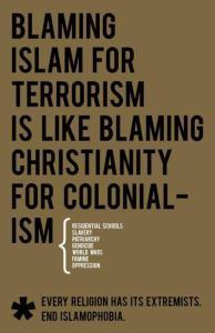 End Islamophobia