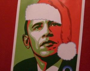 Obama Santa