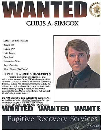 simcox wanted