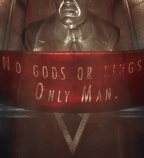 No gods, no kings, only man