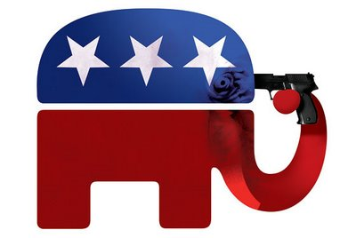 Republican shooting themself