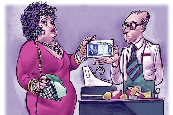 welfare queen myth