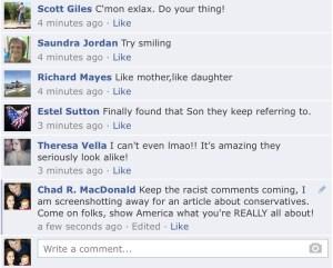 Republican Bullies, facebook hate feed