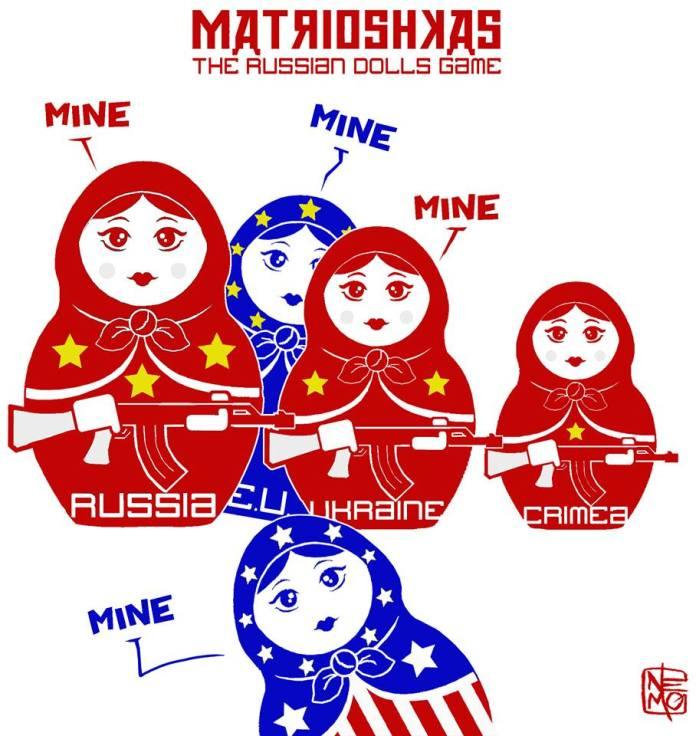 Crimea Cartoon: The Russian Dolls Game