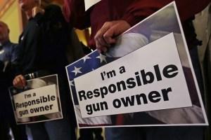 guns, responsibility