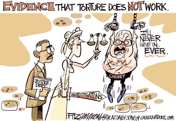cheney torture cartoon