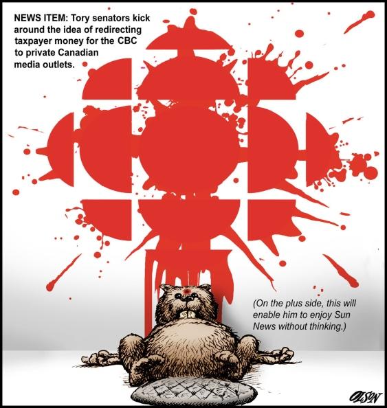 best editorial cartoons 2014, CBC