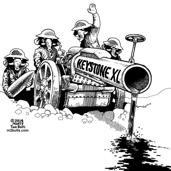 Republican aggression on Keystone