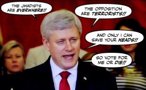 anti-terrorism bill, Stephen Harper