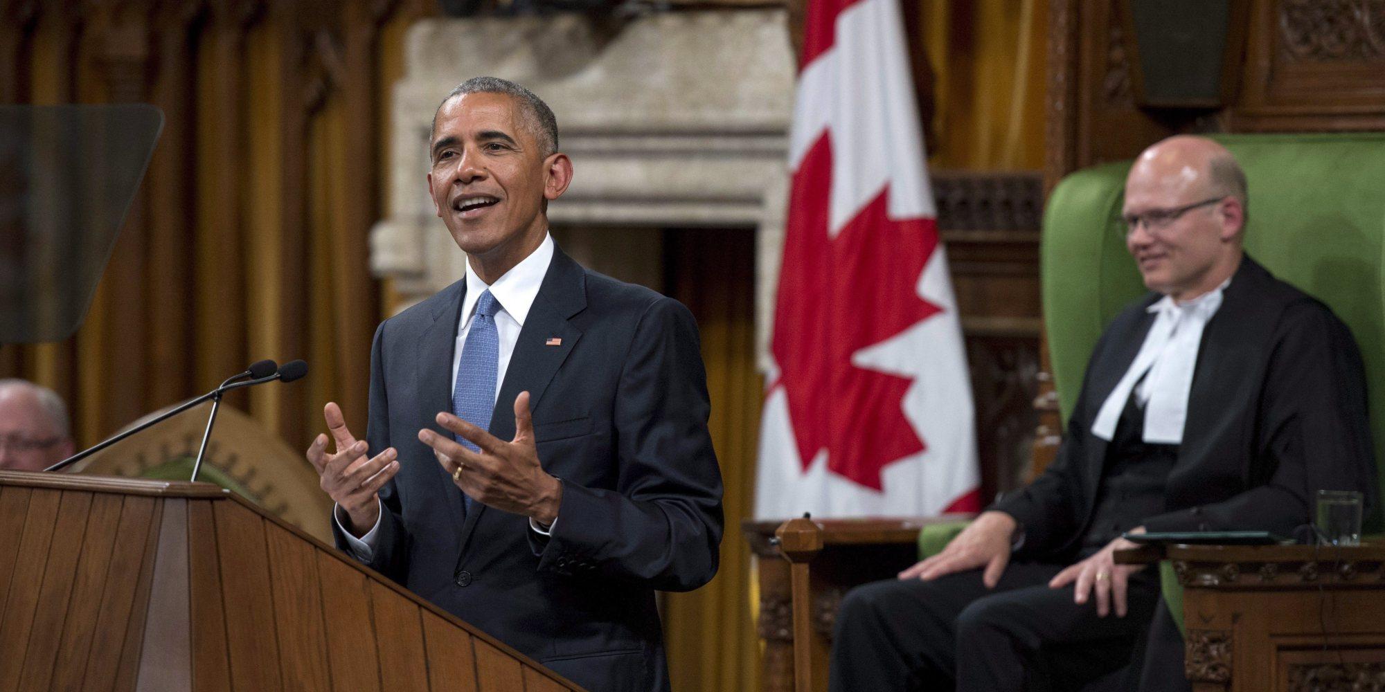 presidential term limits, Barack Obama, Canada