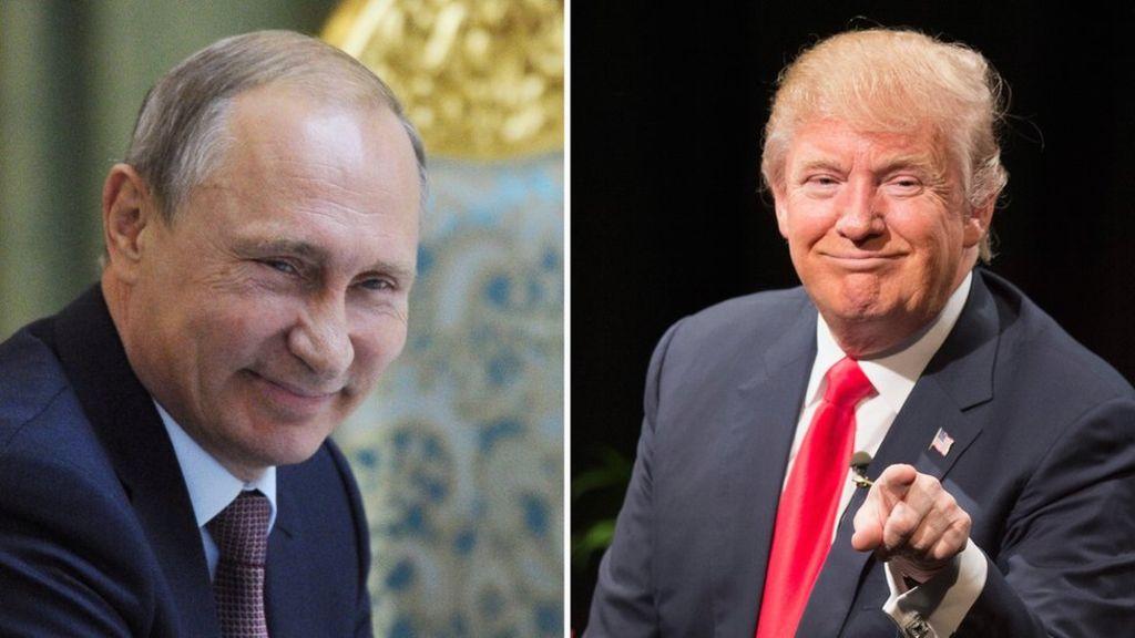 Trump Dismisses Violence, Putin, Trump, Oreilly