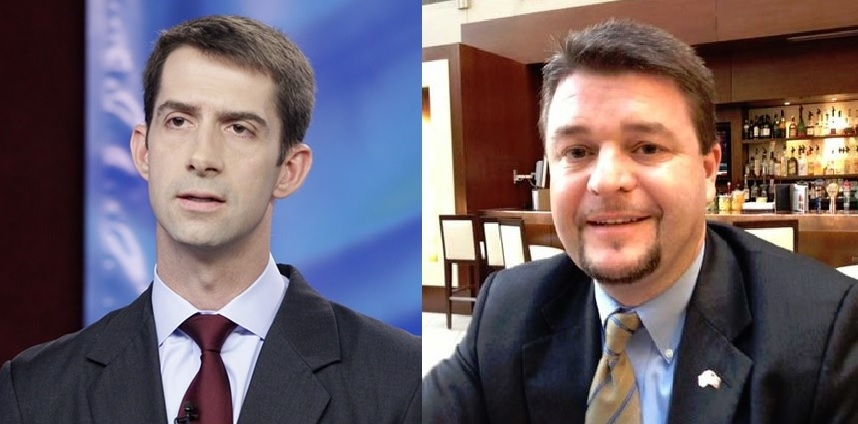 republican hypocrisy, Tom Cotton and Jason Rapert