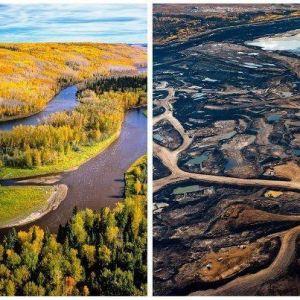 Athabasca tar sands