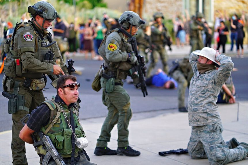 Militias and the Police