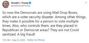 Postal Funding Package, veto, trump