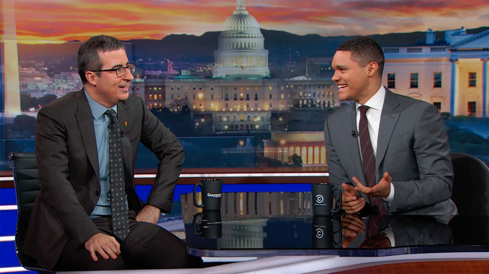 comedic television news shows, john oliver