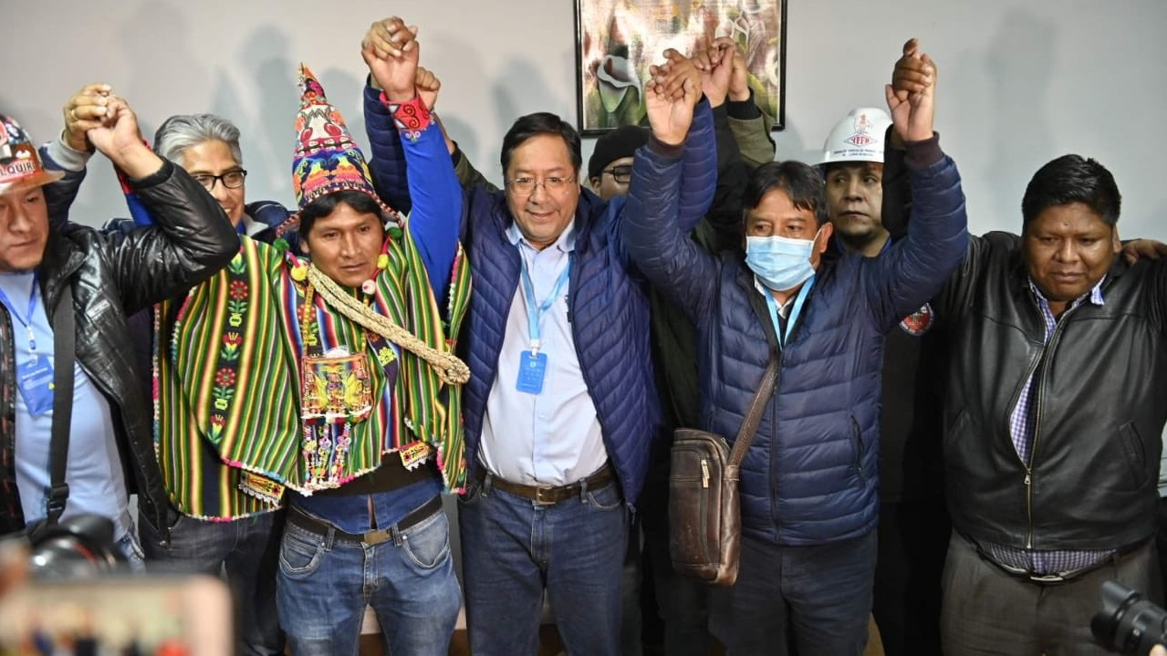 socialist victory, Bolivia