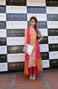 Zara Peerzada at Crescent Lawn Exclusive Preview