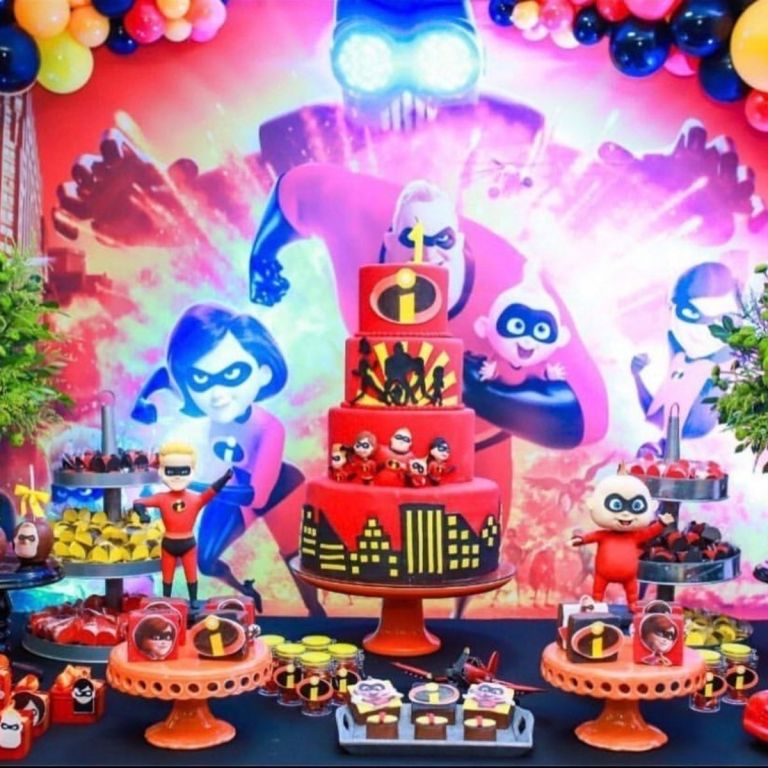 The Incredibles Birthday Party