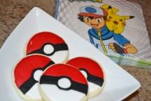 pokemon cookies napkins