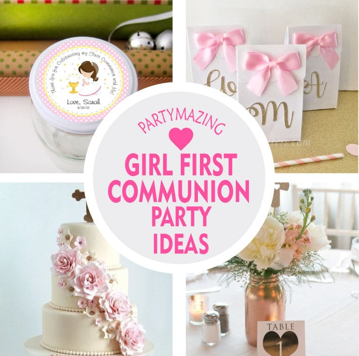 9 Girl First Communion Party Favors And Party Ideas