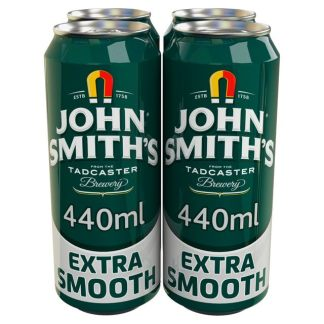 John Smith's Extra Smooth 4x400ml