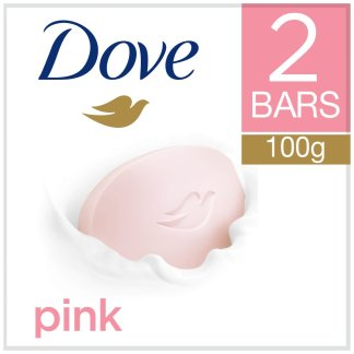 Dove Pink Soap 2pk