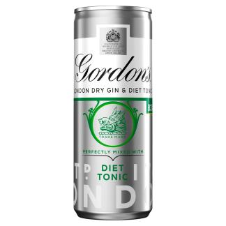 Gordon's Gin & Diet Tonic 250ml