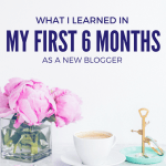 6 Months In! A Blog Update