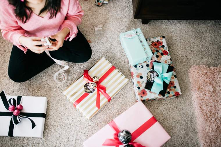 (Not Your Mother's) Holiday Wrapping Inspiration! via partyofsarah.com