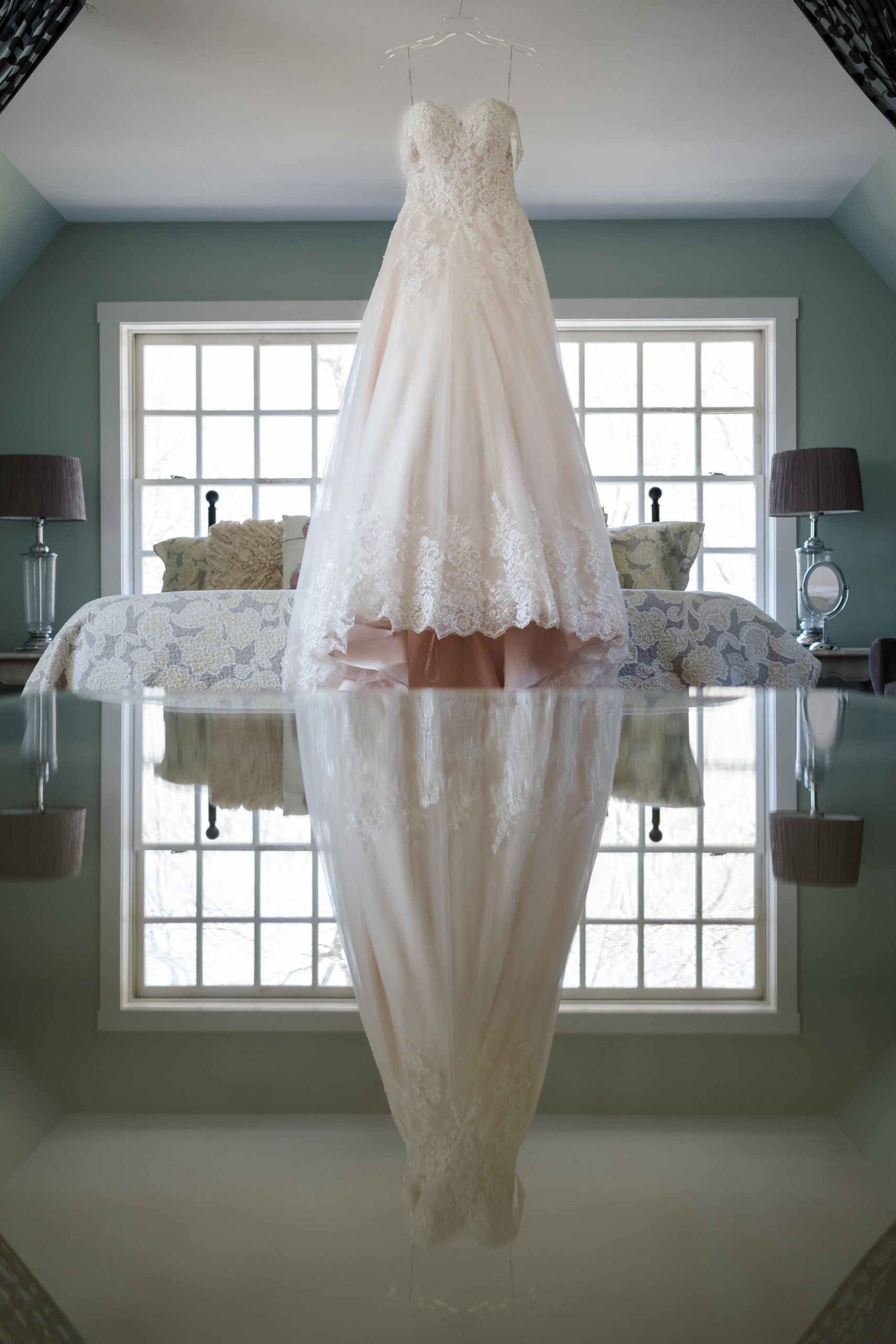 Unique Wedding Dress Photography